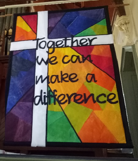 A Church Banner