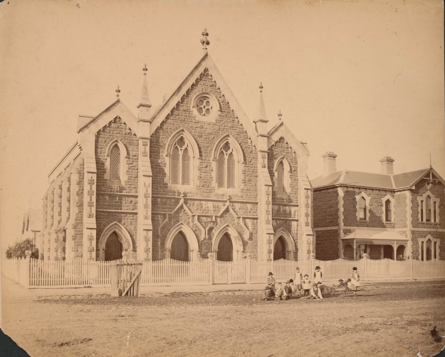1900 Wesley old church