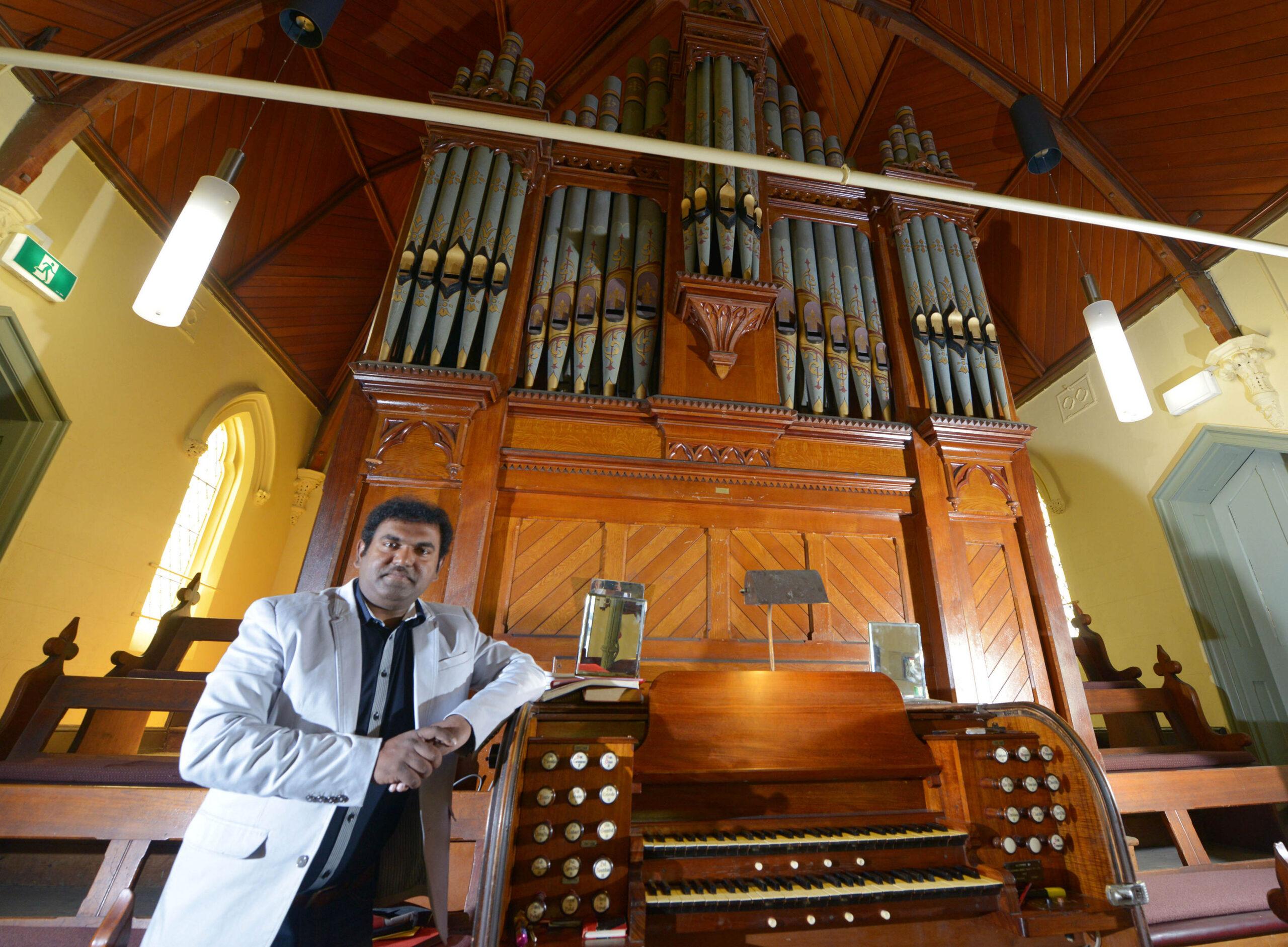 Rohit and organ